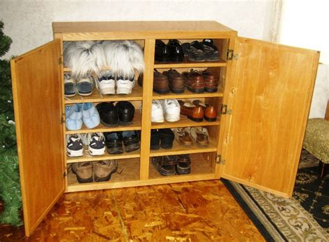 how to make a shoe storage cabinet free shoe rack plans how to make wooden shoe racks