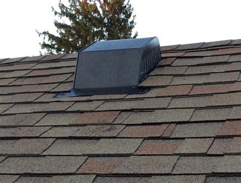bathroom vent through existing roof vent home improvement