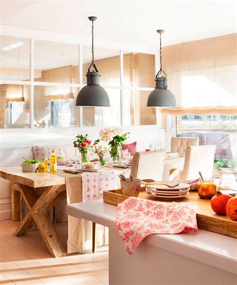 decorar comedor cocina office cocina abierta al office con mucha barra y buen orden
