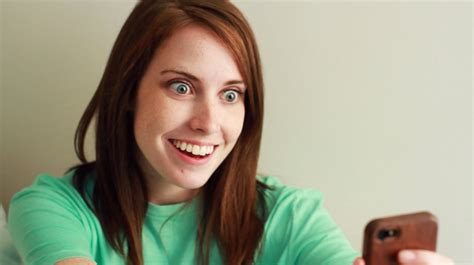 Laina Meme - overly attached girlfriend meets bad luck brian youtube