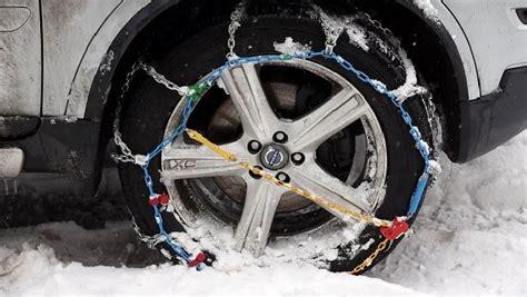 cadenas automaticas para nieve c 243 mo instalar los diferentes tipos de cadenas de nieve del