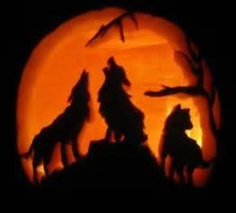 wolf pumpkin template howling wolf wolves pumpkin carving light craft