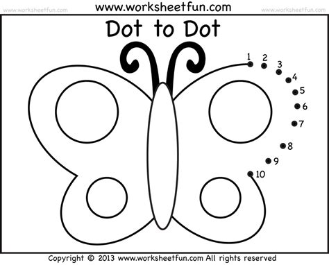 printable dot to dot 1 10 great connect the dots numbers 1 10 printable photos