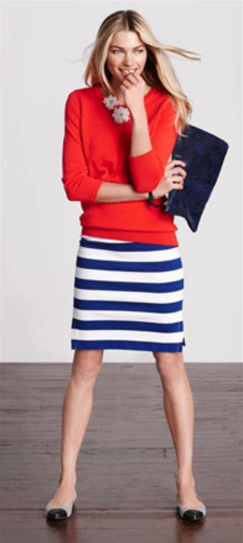 V Marked Casual Top Whitepinkblackgray 26911 how to wear striped skirts 10 handpicked ideas to discover in s fashion