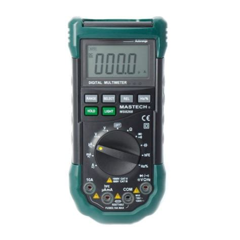 Multimeter Digital Mastech mastech ms8268 ms8261 series digital ac dc auto manual range digital multimeter in the uae see