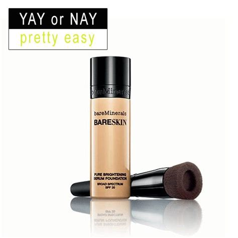 Yay Or Nay Mineral Makeup by Bare Minerals Bare Skin Brightening Serum Foundation