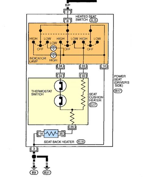 nissan altima power seat switch wiring diagram 46 wiring
