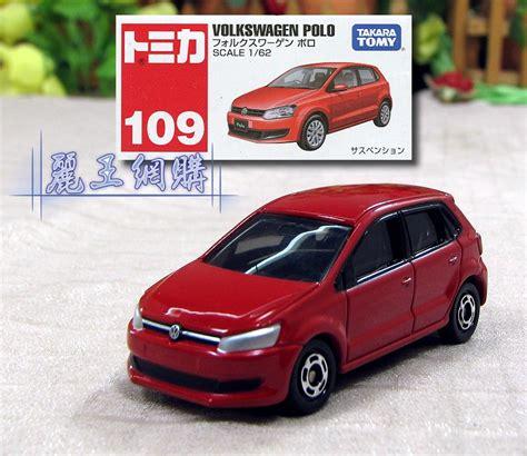Tomica Volkswagen Polo Merah 109 tomica volkswagen 福斯 polo tomica小汽車系列商品