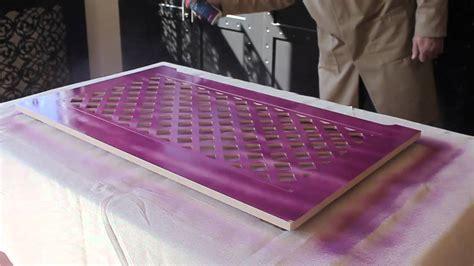 Spray Paint Mdf Easy Craft Ideas