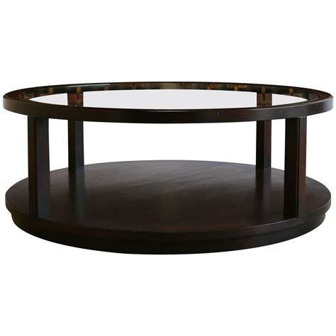 Mahogany And Glass Coffee Table Mahogany And Glass Coffee Table By Edward Wormley For Sale At 1stdibs