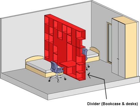 Divide Room With Bookcase Spaces Pinterest Room How To Divide A Room