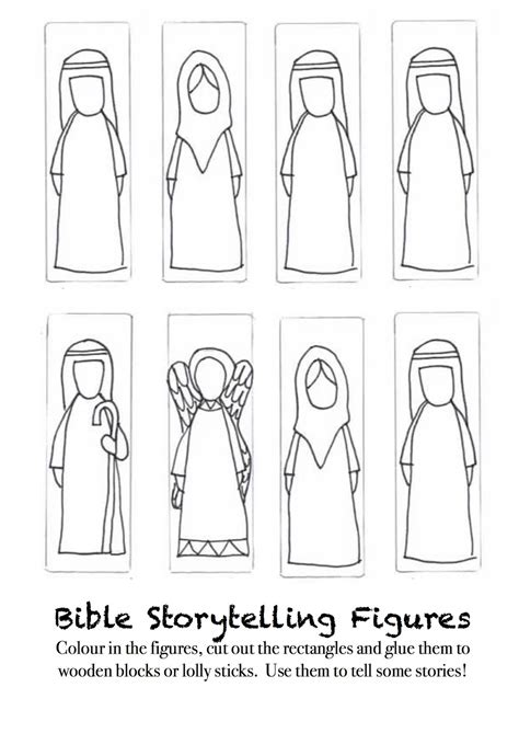 cut out character template creative children s ministry creative storytelling