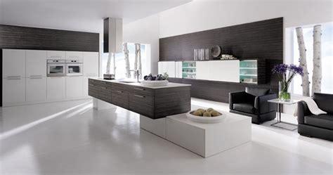 Modern Black And White Kitchen Designs by Modern Kitchen Black And White Interior Design