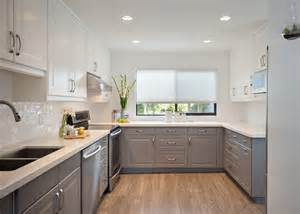 Cleaning Kitchen Cabinet Doors Vancouver Two Color Cabinets Kitchen Traditional With