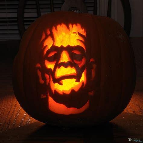 frankenstein pumpkin halloween pumpkins pinterest