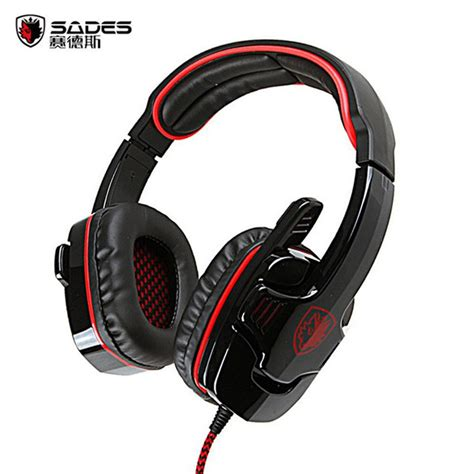 Headset Sades 901 sades sa 901 gaming headphones usb 7 1 surround stereo bass headset earphone with