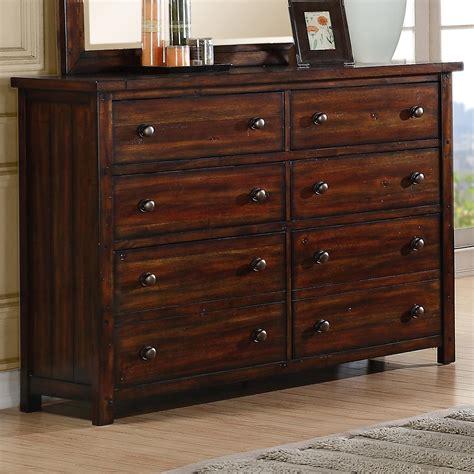 Becker Furniture Woodbury by Elements International Boardwalk Dresser With 8 Drawers