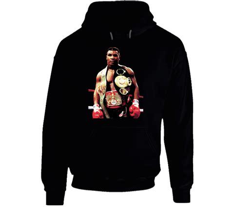 Kaos Keren New Iron Mike Tyson Boxing Legend Logo S Black mike tyson boxing legend iron mike pullover hoodie