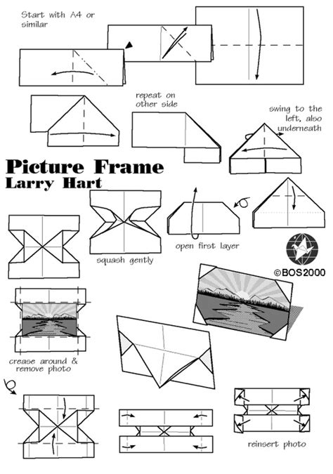 Picture Frame Origami -