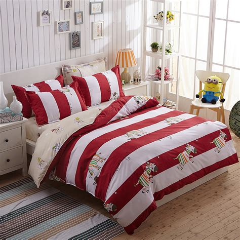 red and white striped comforter red white striped comforter promotion shop for promotional
