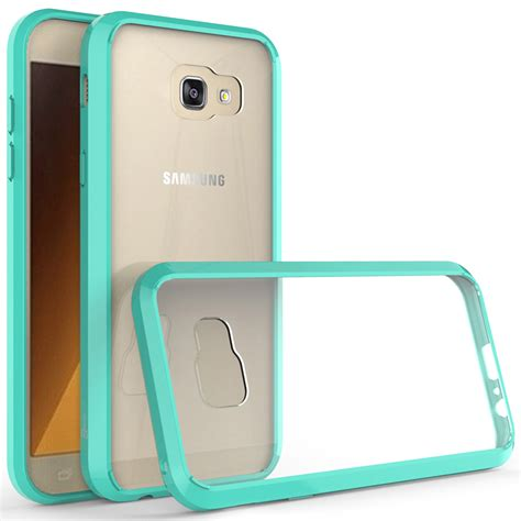 Carbon Black Casing For Samsung A7 2017 coveron for samsung galaxy a7 2017 slim hybrid phone cover ebay