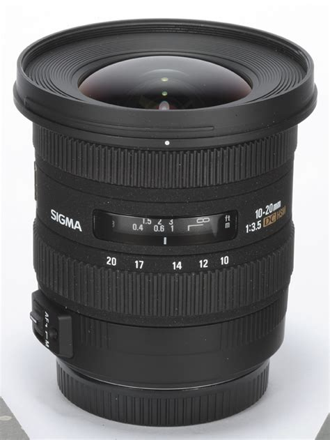 Sigma 20mm sigma 10 20mm f 3 5 ex dc hsm review