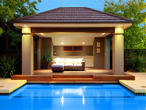 pool cabana designs in ground pool design using stone with cabana decorative