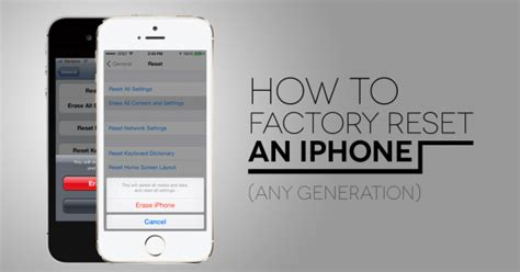 factory reset  iphone  generation digital trends