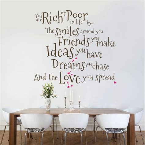 living room wall quotes wall decal beautiful wall decals for dining room