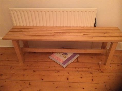 ikea norden bench ikea norden bench for sale in drumcondra dublin from bluesky2