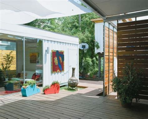 home design houston modern colorful and creative shipping container home in