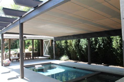 pool awnings canopies 4 cool pool shade solutions