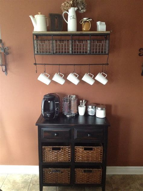 my new coffee bar home ideas