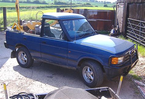 land rover discovery pickup tales from the workshop ralph hosier s technoblog
