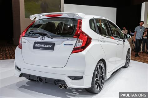 Spoiler Mugen With L Grand All New Jazz 2014 honda jazz facelift ใหม ก บช ดแต งในสไตล mugen
