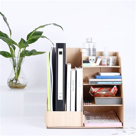 Office Desk Supply Diy Desk Accessories Organizer Desk Set Multi Functionfor Office And School Supplies In Desk
