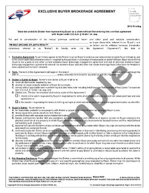 Buy Sell Agreement Llc Forms And Templates Fillable Printable Sles For Pdf Word Pdffiller Exclusive Brokerage Agreement Template