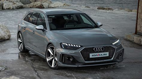 audi rs avant realistically rendered