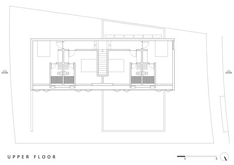 design for rectangular plot simple two story rectangular house design with two kitchen