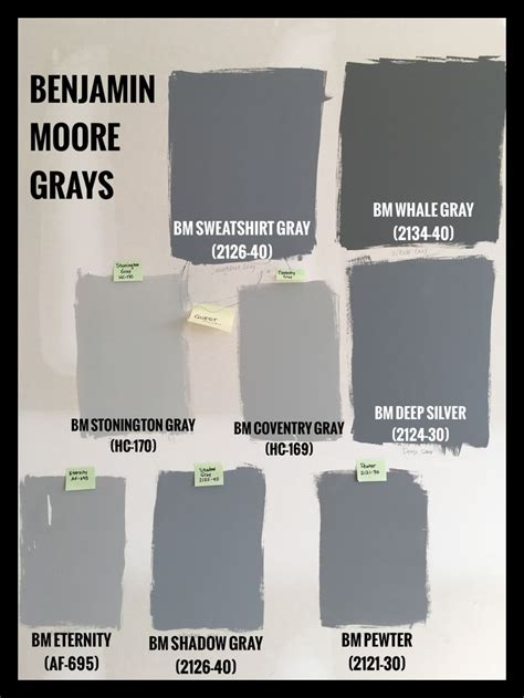 bm silver gray benjamin moore gray paint swatches bm sweatshirt gray
