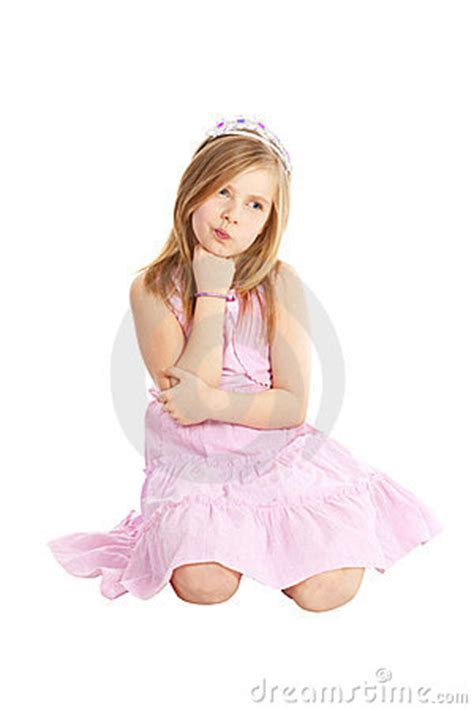 schoolgirl princess backgrounds angry little princess sitting over white royalty free