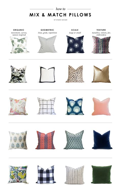 how to mix and match pillows on a sofa how to mix match pillows studio mcgee