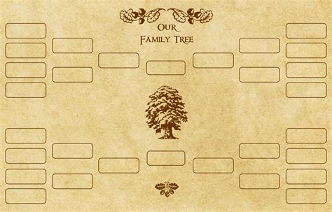 roots template family tree template family tree template with roots