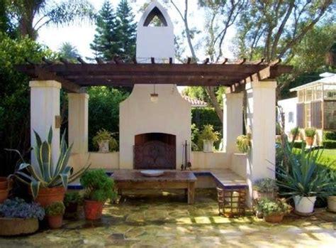 spanish style backyard pergola spanish style house spanish homes pinterest