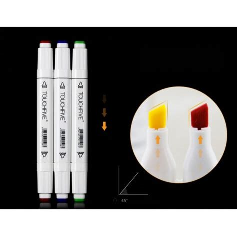 Touch Five Marker touch five marker 60 pen student colors set