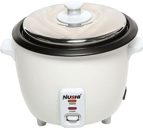 Rice Cooker 2 Liter nushi rice cooker 1 liter white ns 5001 price review and buy in uae dubai abu dhabi souq