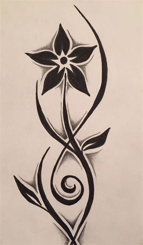 tribal tattoo with flowers best 25 tribal drawings ideas on turtle