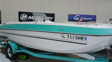 four winns candia 190 deck boat used deck boat boats for sale in illinois united states
