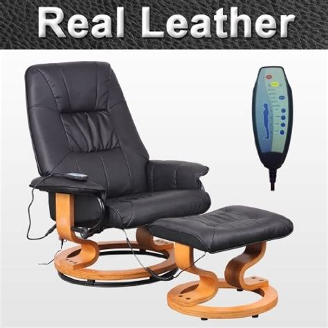 Julian Bowen Malmo Recliner And Footstool by Uk Ireland Home Improvement Tuscany Real Leather
