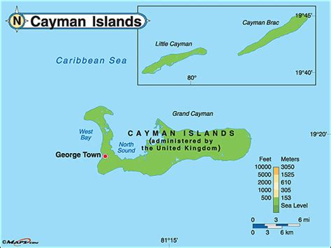 world map cayman islands cayman islands physical map by maps from maps
